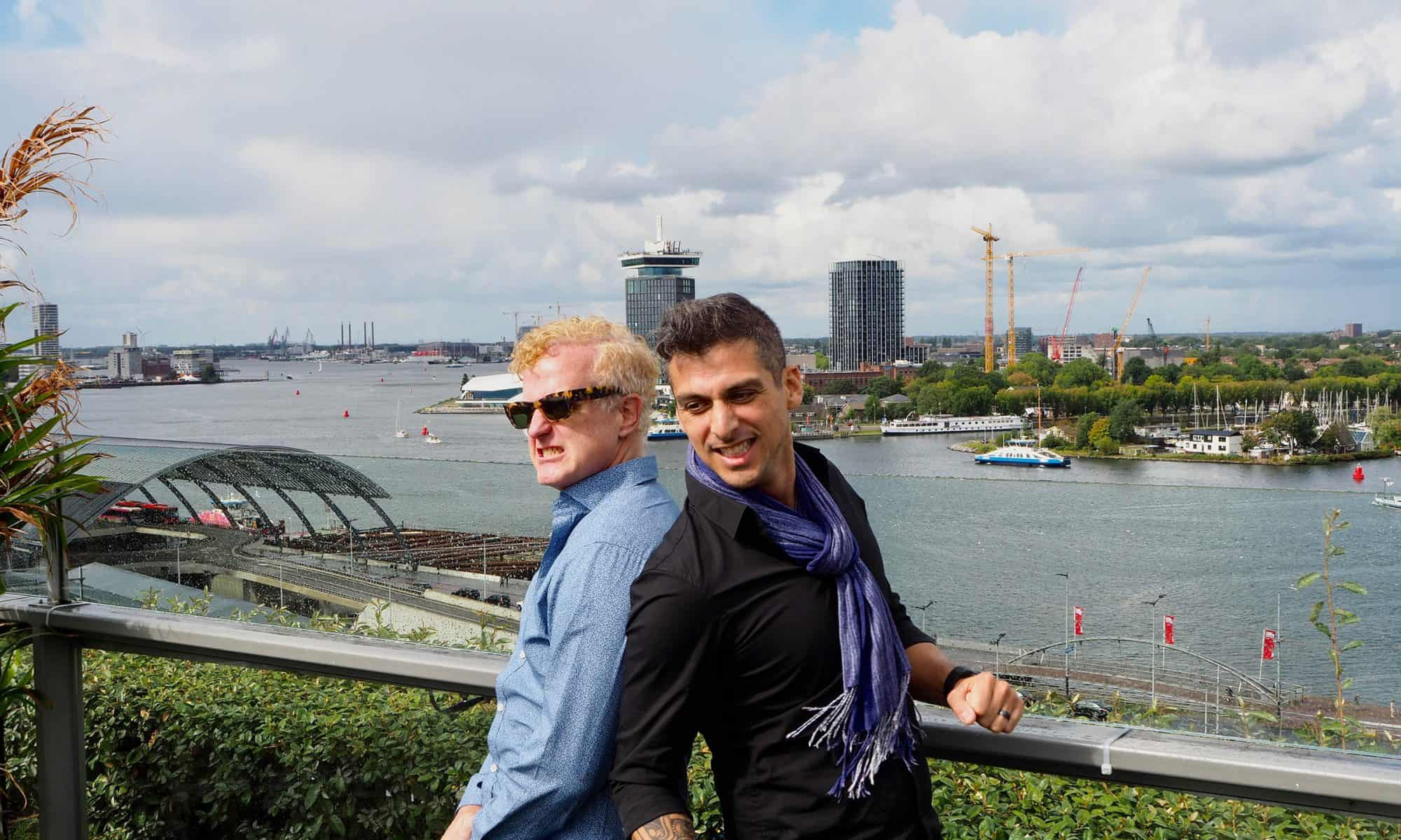 Anton & Brian in Amsterdam - by Amsterdamian.com